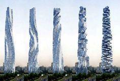 united arab emirates buildings | Dynamic Tower - Dubai, United Arab Emirates