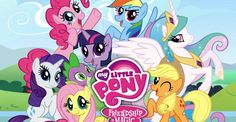 My Little Pony: Friendship is Magic.    I say I watch it for my daughter, but it's actually a fun show.