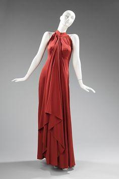 Dress Madame Grès, 1974-1975 The Metropolitan Museum of Art