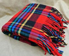Beautiful Red Plaid pattern with fringe at each end is x including wool fringe at each end. Nice as a throw on sofa or take to your favorite outside activity. Scandinavian Holidays, Sofa Throw, Seat Pads, Plaid Pattern, Red Plaid, Blankets, Picnic, Cart, Wool