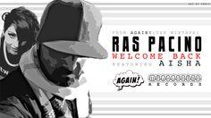 Ras Pacino - Welcome Back - Banner Artwork by Kenji