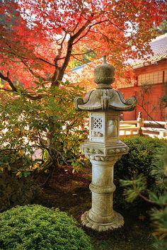 Japanese Garden Lanterns - barone garden art, highway 20, Mt. Vernon, WA