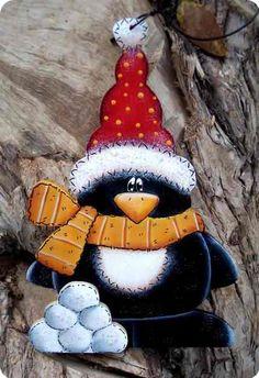 Cute Christmas Craft Penguin