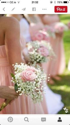 Rose abd gyp bouquet simple