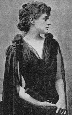 """Maud Gonne. """"With beauty like a tightened bow, a kind that is not natural in an age like this, Being high and solitary and most stern?"""" - Yeats"""