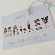Vi går og glæder os til #barnedåb. Invitationerne er sendt ud og vi håber alle kan komme ✌️ #dåb #dåbsinvitation #invitation #diy #barnedåbsinvitation #babylife #glæderos #babyboy #momlife