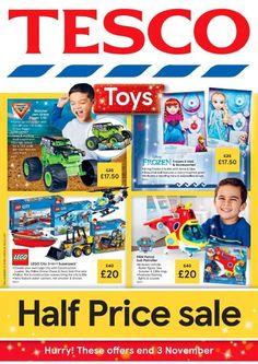 #tesco #tescouk #hallowen #hallowendeals #hallowenuk #hallowenbargains #hallowendiscounts #supermarketdeals #supermarketuk #newsnacks #strawberries #supermarketoffers #halfprice #2for1 #bargainshopper #bargain #bargainhunter Lego Submarine, Uk Supermarkets, Leaflets, Half Price, Paw Patrol, Catalog, Brochures, Flyers