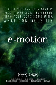 E-Motion Imagine a world where the trapped emotions, fears, anxieties and unprocessed life experiences we... #yekra  Check out the trailer: http://ykr.be/24tnb65nxj