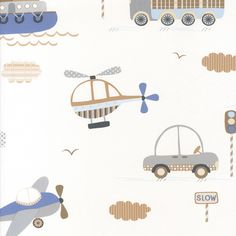 VOERTUIGEN BEHANG - Noordwand Tiny Tots G45161 Cute Owls Wallpaper, White Wallpaper, Kids Prints, Baby Prints, Fabric Patterns, Print Patterns, Baby Fabric, Books For Boys, Animal Design