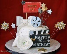 Hollywood Theme Cake