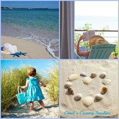 Beach images via Carol's Country Sunshine on Facebook