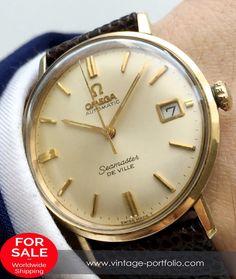 Omega Seamaster De Ville Automatik Automatic Vintage #omega #omegawatches…