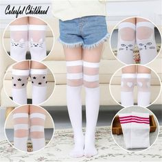 Lovely school white school girl sock one size fit 5 – 12 years old Baby Tights, Baby Girl Socks, Cheap Socks, Cool Socks, Winter Outfits For Girls, Kids Outfits, Kids Socks, Long Socks For Kids, Fashion Socks