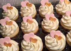 Check out this item in my Etsy shop https://www.etsy.com/ca/listing/263310594/24-hearts-light-pink-and-gold-fondant