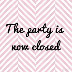 Closed party Scentsy