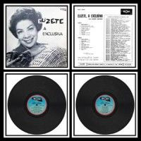 Vinil Elizete, A Exclusiva 1963. Som/Copacabana SOLP 40065