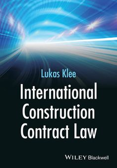 International Construction Contract Law Ebook Pdf