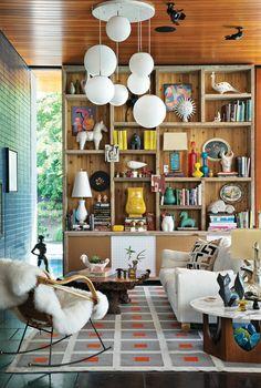 joli salon art avec un tapis lesage ou un st maclou tapis