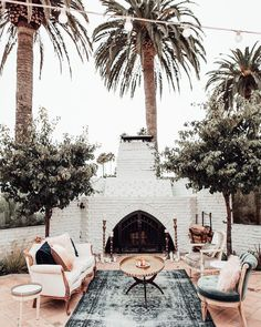 The historic Casino San Clemente comes equipped with multiple outdoor spaces + an industrial modern interior. Outdoor Rooms, Outdoor Living, Outdoor Decor, Outdoor Patios, Outdoor Kitchens, Outdoor Areas, Outdoor Seating, Home Interior, Interior And Exterior