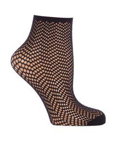 oroblu sokken met opengewerkte details