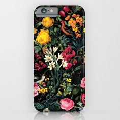 Check out society6curated.com for more! @society6 #floral #flowers #pattern #phone #case #phonecase #accessory #accessories #fashion #style #buy #shop #sale #cool #sweet #rad #awesome #fun #beautiful #beauty #pretty #botanical #iphone #products #product  #botanical #birds #red #pink #yellow #green #black