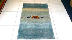 画像1: ゾランバリ遊牧民ギャッベ:アマレ