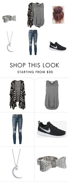 """""""untitled #2"""" by loveforever10101 ❤ liked on Polyvore featuring Witchery, Frame Denim, NIKE and King Baby Studio"""