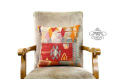 Anatolia Beauty Red Nomadic Pillow by AnatoliaCollection
