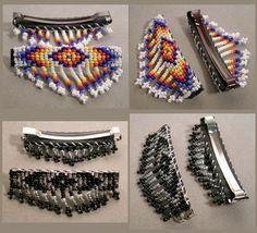 native american bead patterns free | Beadwork by Dorla Hershkovitz--New Beaded Medicine Bags