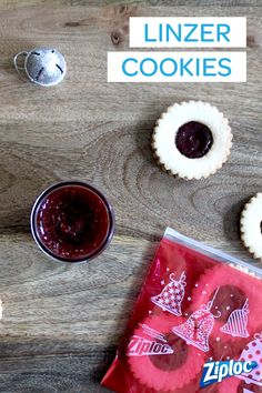 We love these traditional cookie recipes! Gift these classic Linzer Cookies in Ziploc® containers to friends, family, and neighbors.