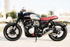Suzuki GSX1200 Inazuma Custom Scrambler Cafe Racer Tv, Suzuki Cafe Racer, Inazuma Cafe Racer, Cafe Racer Build, Cafe Racer Bikes, Indian Motorcycles, Triumph Motorcycles, Honda Scrambler, Cafe Racer Motorcycle
