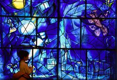 I, too, would like never to leave the Chagall windows at The Chicago Art Institute.