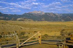 Absaroka Range Gardiner Montana