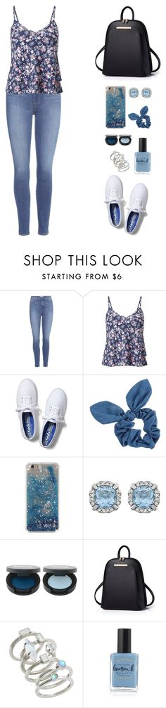 """""""Untitled #376"""" by keyling99 ❤ liked on Polyvore featuring Paige Denim, Miss Selfridge, Keds, Dorothy Perkins, FACE Stockholm, Kendra Scott and Lauren B. Beauty"""