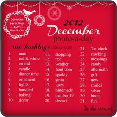 December Photo-A-Day Challenge #idearoom