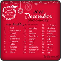 December Photo-A-Day Challenge