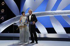 Audrey Tautou et Spielberg - Festival de Cannes - Du 15 au 26 mai 2013