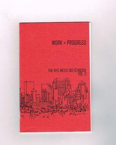 NEW YORK MECH WORK + PROGRESS SKETCHBOOK Volume 2! Art by Andy MacDonald! NM  http://www.ebay.com/itm/-/292001975070?roken=cUgayN&soutkn=N2LWBG