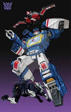 Soundwave and pals by Dan-the-artguy on DeviantArt Transformers Soundwave, Transformers Characters, Transformer Tattoo, Transformers Generation 1, Mejores Series Tv, Transformers Masterpiece, Sound Waves, Anime Comics, Deviantart