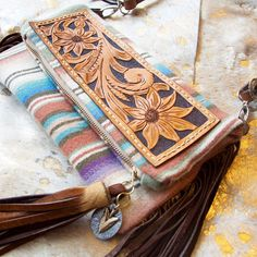 Visit calicogoldleather on instagram for hand tooled western accessories!