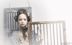 @Ivy Reynolds Love this! from Small Magazine.#antlers  #dreamy #Gingham