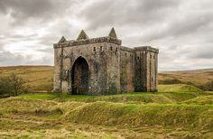 Hermitage Castle, Scotland Hermitage Castle, in the border region of Scotland, has a reputation, both from its history and its appearance, as one of the most sinister and atmospheric in Scotland. Supposedly built by Nicholas de Soulis around 1240, in...