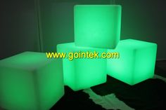 Illuminated LED Open Cube,Illuminated Decoration LED Luminous Cube