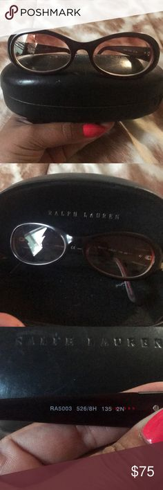 Ralph Lauren Sunglasses RA5003 Almost new Ralph Lauren sunglasses  I had my prescription put in them yet barely ever wore them. If I wore them 4 times that is a lot.  Originally paid $350 for them  In great condition Ralph Lauren Accessories Glasses