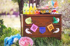 Technicolor Cinco de Mayo Wedding - Ruffled®