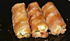 Carol Ri Vodpod: French Toast Sticks Stuffed with Sweetened Cream Cheese What's For Breakfast, Breakfast Dishes, Breakfast Recipes, Second Breakfast, Christmas Breakfast, Christmas Morning, Christmas Eve, French Toast Rolls, French Toast Sticks