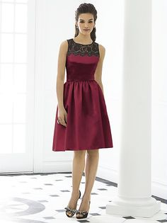 After Six Bridesmaid Dress 6644 http://www.dessy.com/dresses/bridesmaid/6644/?color=burgundy&colorid=8&SSAID=733303#.Us0B9LSoC9Z