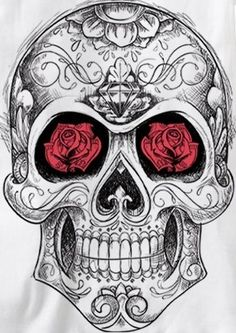 Sugar Skull -- i want to know what all the details mean and represent