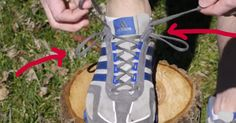 Tie Shoelaces Like THIS And Say Goodbye To Blisters!