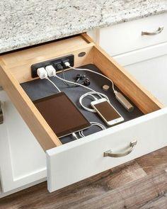 Kitchen Drawers, Kitchen Storage, Kitchen Decor, Kitchen Ideas, Diy Kitchen, Kitchen Inspiration, Cabinet Storage, Kitchen Layout, Kitchen Furniture